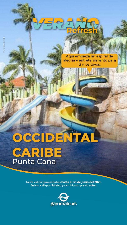 OFERTA OCCIDENTAL CARIBE VERANO REFRESH