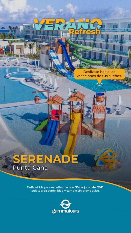 OFERTA HOTEL SERENADE PUNTA CANA VERANO REFRESH